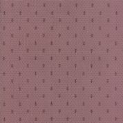 Moda - Jardin de Versailles, French General -5903 - Fleur-de-Lis in Plum - 13816 16 - Cotton Fabric